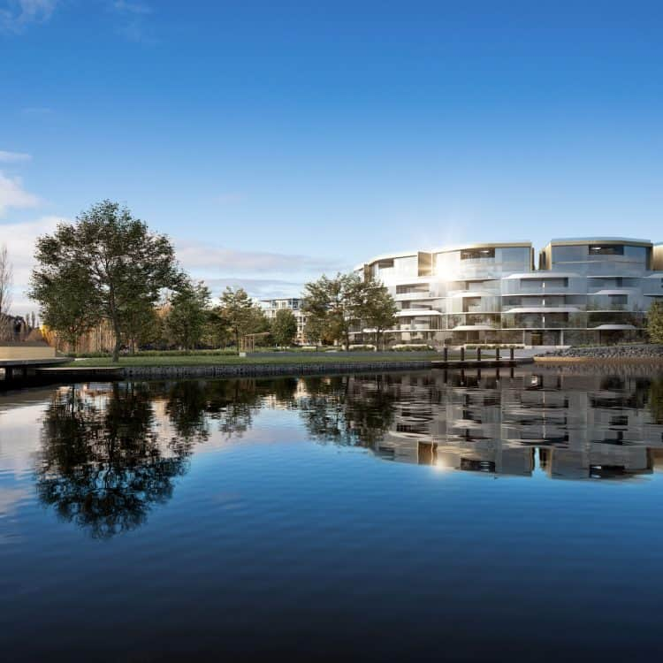 Jewel in Canberra's foreshore crown